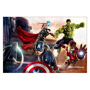 Avengers. Размер: 60 х 40 см